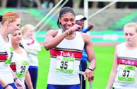 Semenya volvió a correr y regresó con victoria