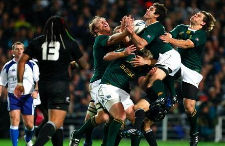 Sudáfrica le gana a Nueva Zelanda en torneo Tres Naciones