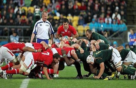 Sudáfrica sufre pero gana en su estreno ante Gales