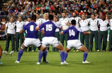 Sudáfrica en cuartos de final del Mundial de Rugby