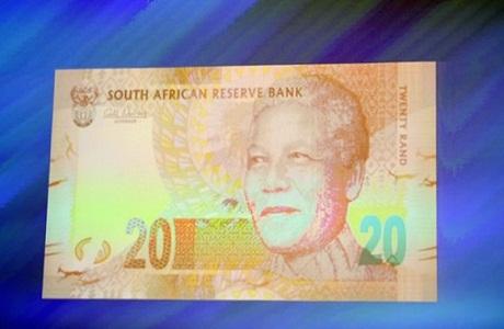 Nuevos billetes en Sudáfrica tendrán la imagen de Mandela