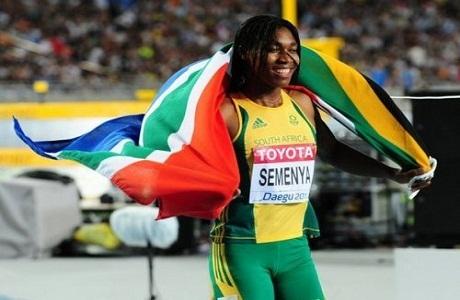 La sudafricana Caster Semenya clasifica para los juegos de Londres