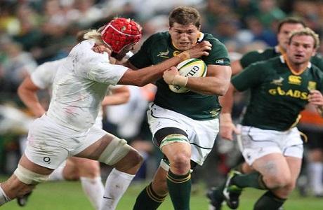 Springboks sudafricanos derrotan a Inglaterra en Durban