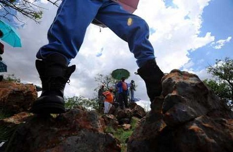 Las minas de oro de Sudáfrica vuelven a funcionar
