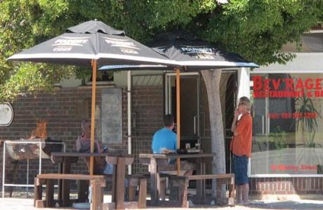 El restaurante Bev'rages de Puerto Elizabeth