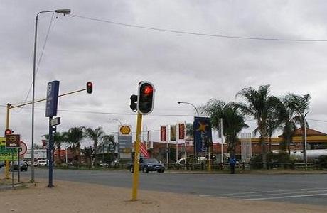 La ciudad de Giyani en Limpopo