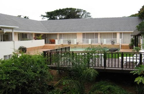 El hotel Mandalay B&B de la ciudad de Durban
